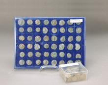 24 roman coins and approx. 150 coins