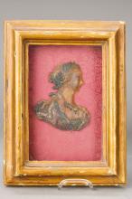 Profile portrait in wax, Mainz