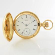 WALTHAM/APPLETON TRACY & Co. heavy 18k pocket watch