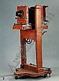 Studiokamera Alfred Bruckner Rabenau um 1900 Objektiv Voigtlander Heliar 1:4.5 360mm