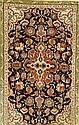 Feiner Esfahan, Persien, ca. 30 Jahre, Korkwolle