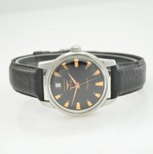 LONGINES Conquest gent's wristwatch in steel