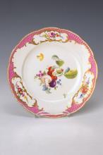 Ceremonial plate, Meissen, 1773-64