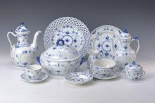 Coffee and dinner set, 2nd half 20th cent.