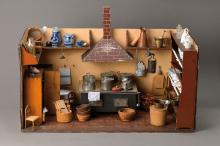 Doll kitchen, German to 1900-10