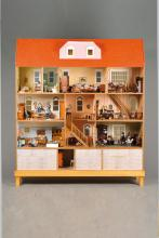 Large Doll House, late 20th c.
