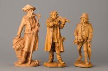 Three sculptures, Thoma, Bernau, 1990s and 2009