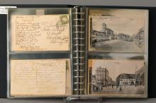 Two postcard albums to 1900-25