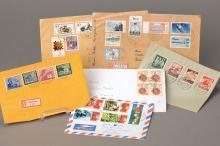 Convolute postal stationery