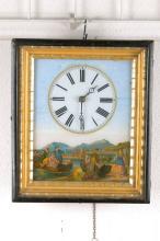 frame clock, Black Forest, around 1880