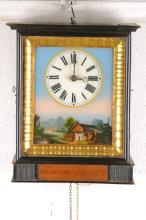 Frame clock, Black Forest, in 1880