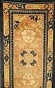 Pow Tow antik, China, um 1900, Wolle auf