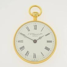 L. U. CHOPARD & Cie Geneve 18k yellow gold pocket watch