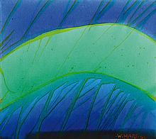 Willibrord Haas, born 1936, acrylic on canvas