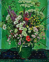 Arnold Balwé, 1898 – 1983, flower still life, oil on canvas