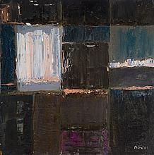 Karl Rödel 1907-1982, oil / artist's board