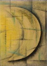 Vaclav Dobrovolny 1911- 2001, oil/tempera on cardboard