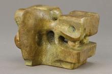 G. Vorhauer, Neustadt to 1965-70, bronze,