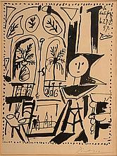 Pablo Picasso, 1881-1973, La Californie, Lithograph 1957,