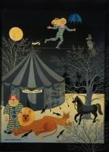 Anita Büscher, contemporary artist, naive painting, signed