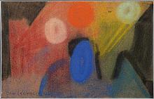 Ida Kerkovius, 1879-1970, pastel on velvet paper,