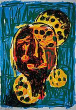 Markus Lüpertz, born 1941,