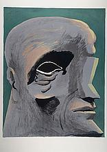 Horst Antes, born in 1936, color lithograph