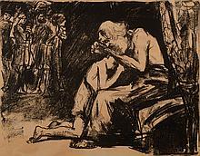 Lesser Ury, Birnbaum 1861-1931 Berlin, lithography