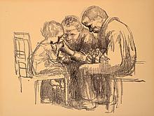 Käthe Kollwitz, 1867-1945, lithograph, unsigned,