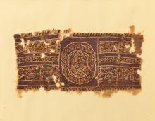 Coptic fabric of Egypt