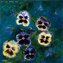 Karl-Heinz Berndt-Elbing, 1934-1999, floral still life,