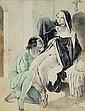 Unknown artist, circa 1860/70, nun seduces young