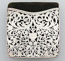 Silver 935 case, Austria, approx. 1860s