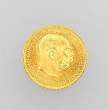 Gold coin 10 kroner, Austria/Hungary 1912