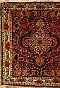 Rosenbidjar, Persien, ca. 40 Jahre, Wolle auf