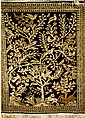 Ghom Seide, Persien, ca. 50 Jahre, reine