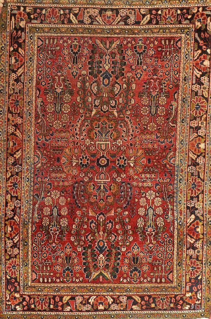 Sarogh alt, Persien, um 1940, Wolle auf Baumwolle,