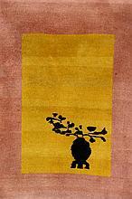 Bejing, China, circa 1930, wool/cotton, approx. 82 x 62