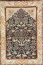 Silk Hereke, China, circa 30 years old, pure silk, approx