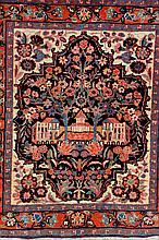 Saruk, Persia, circa 1950, wool/cotton, approx. 77 x 70
