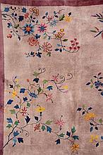 Bejing, China, circa 1920, wool/cotton, approx. 358 x 277