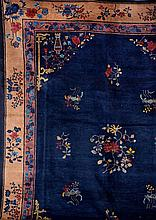Bejing, China, circa 1900, wool/cotton, approx. 350 x 275