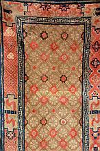 Pao Tao, China, circa 1900, wool/cotton, circa 126 x 62