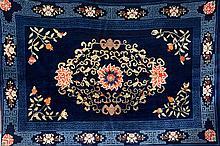 Pao Tao, China, circa 1910, wool/cotton, approx. 264 x 184