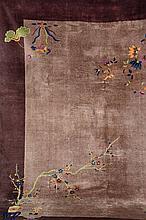 Bejing, China, circa 1900, wool/cotton, approx. 350 x 280