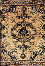 Tafresh, Persia, circa 1930, wool/cotton, approx. 188 x