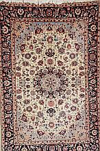 Isfahan, China, circa 30 years old, wool/cotton, approx