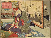 colour woodcut, Utagawa Kunisada, 1786-1864