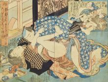 Colour Woodcut, Japan in 1820