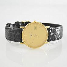 LONGINES 18k yellow gold wristwatch La Grande Classic